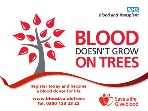 Blood doesnt grow on trees - screen
