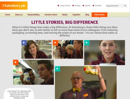 Little Stories at Sainsbury's
