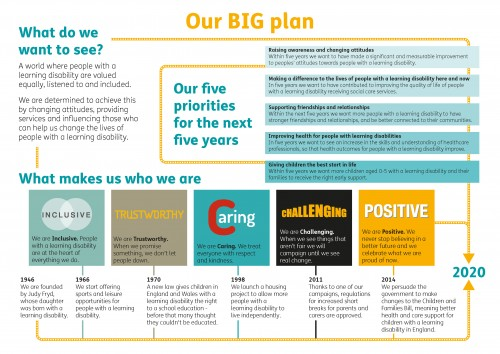 Our Big plan one pager