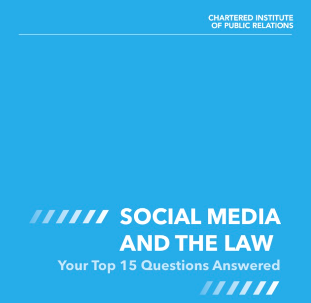 CIPRSM guide to social media and the law