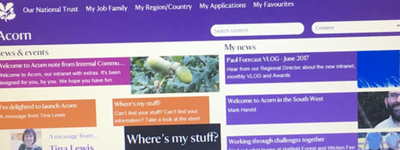 How the National Trust created their intranet