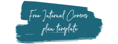 Free internal comms plan template