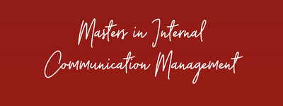 New Masters in Internal Communication course goes live