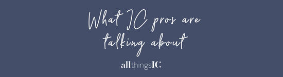 What IC professionals are talking about