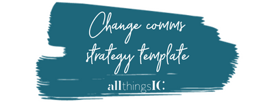 Free change communication strategy template