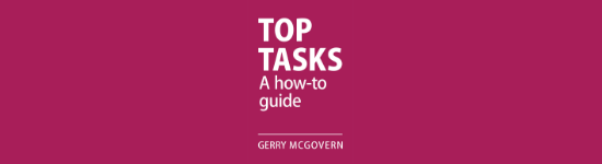 Top tasks can help deliver a better employee experience