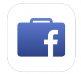Facebook at work logo