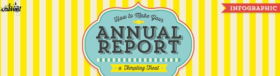 How to make your annual report a tempting treat