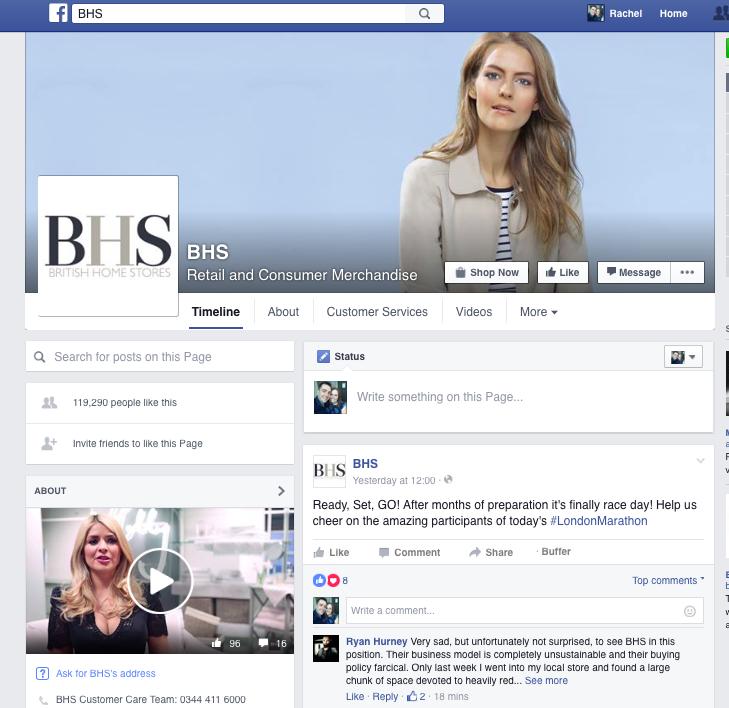 BHS Facebook