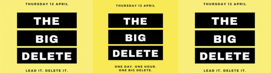 Just how big was The Big Delete?