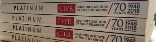 CIPR releases sparkling new book to mark its 70th anniversary