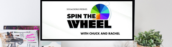 Come and Spin The Wheel on Wednesday