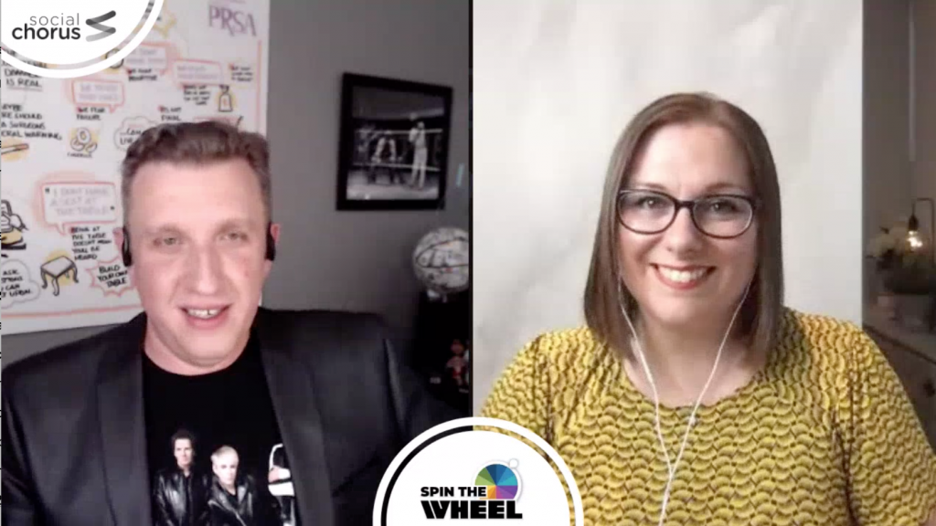 Spin The Wheel with Chuck Gose and Rachel Miller