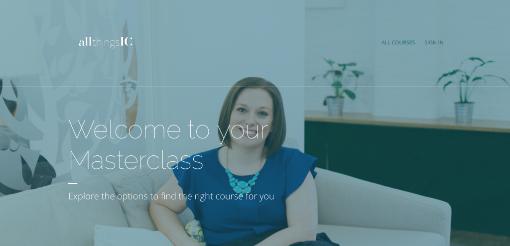 All Things IC Online Masterclasses