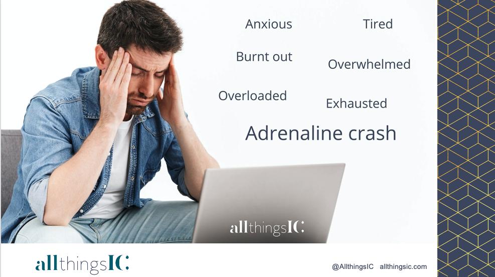 Adrenaline crash