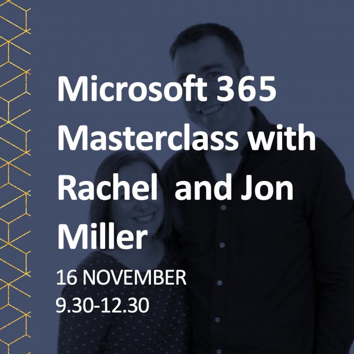 Masterclass Jon and Rachel
