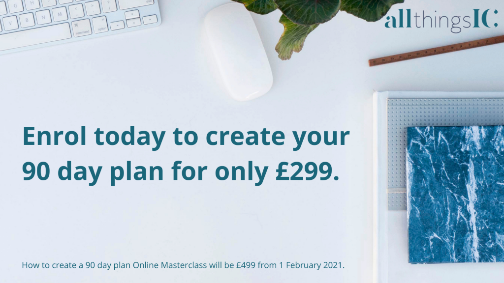 How to create a 90 day plan