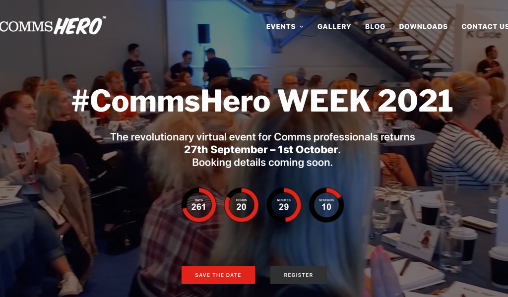 CommsHero week 2021