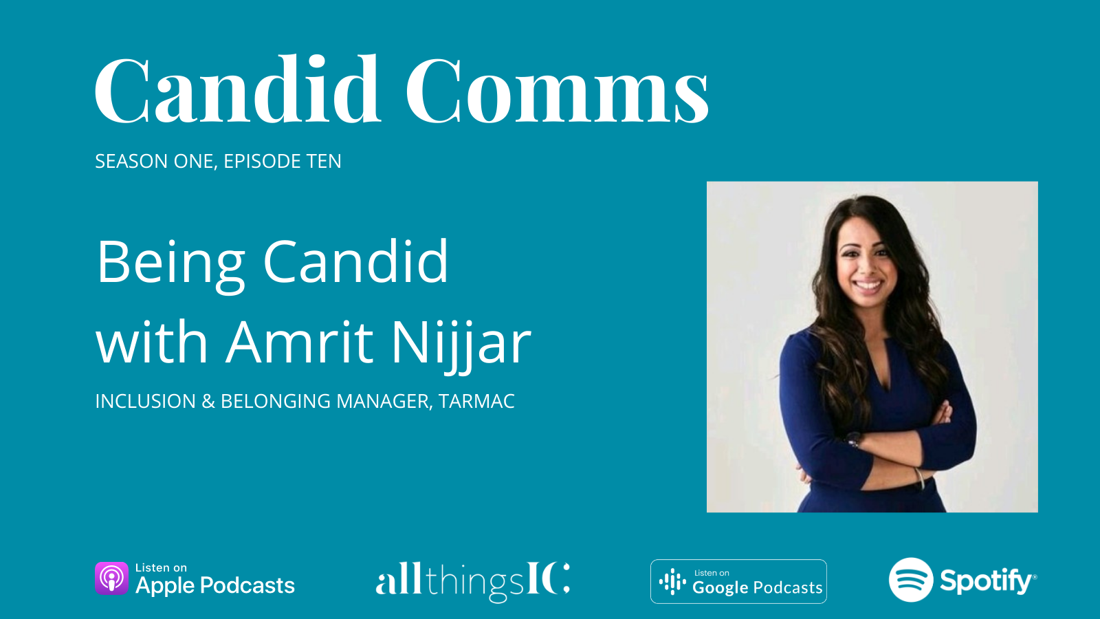 Podcast: Being Candid with Amrit Nijjar