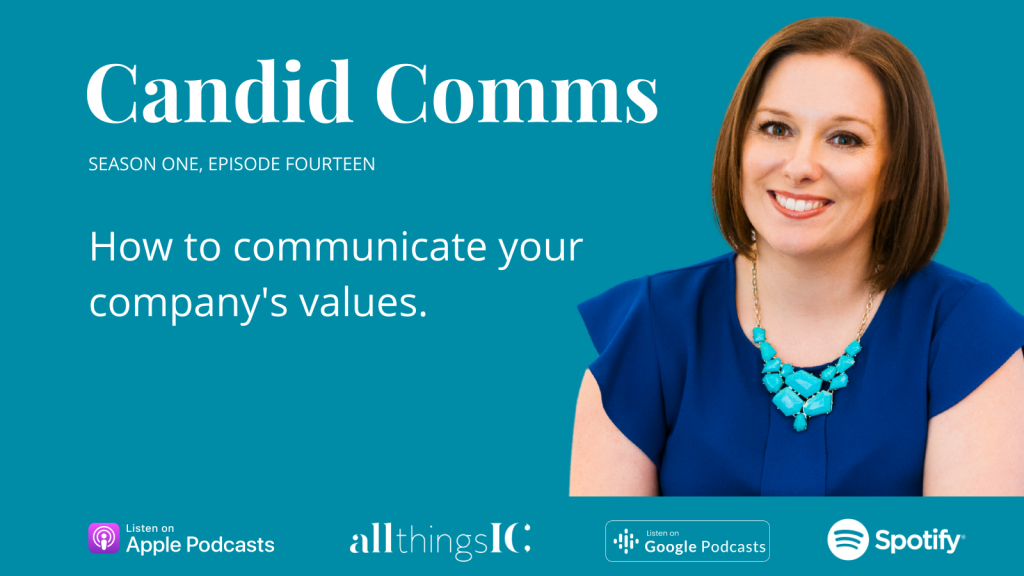 Candid Comms podcast cover