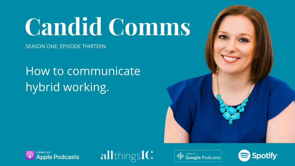How to communicate hybrid working Rachel Miller