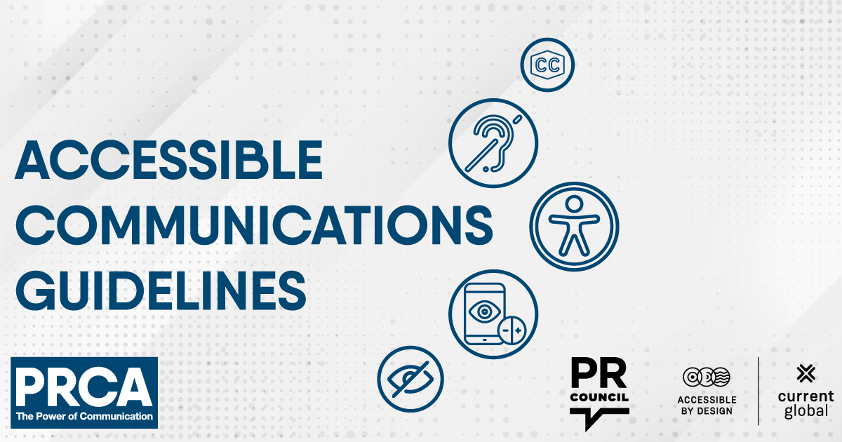PRCA accessible communications guidelines