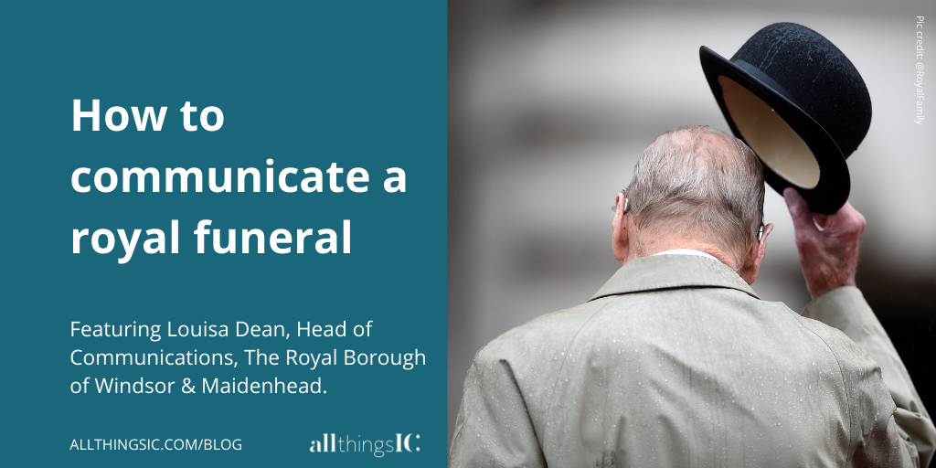 How to communicate a royal funeral