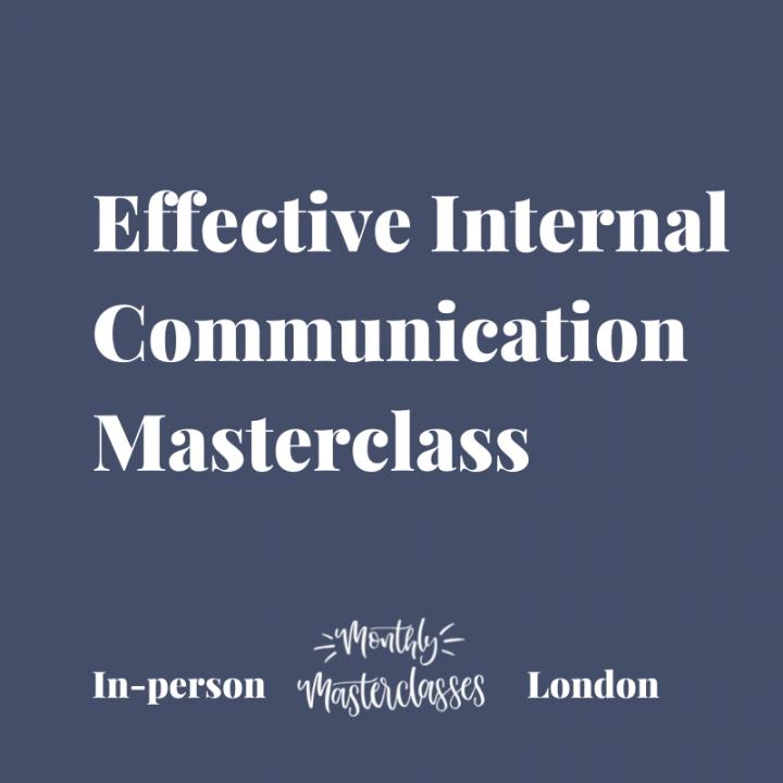 Effective Internal Communication