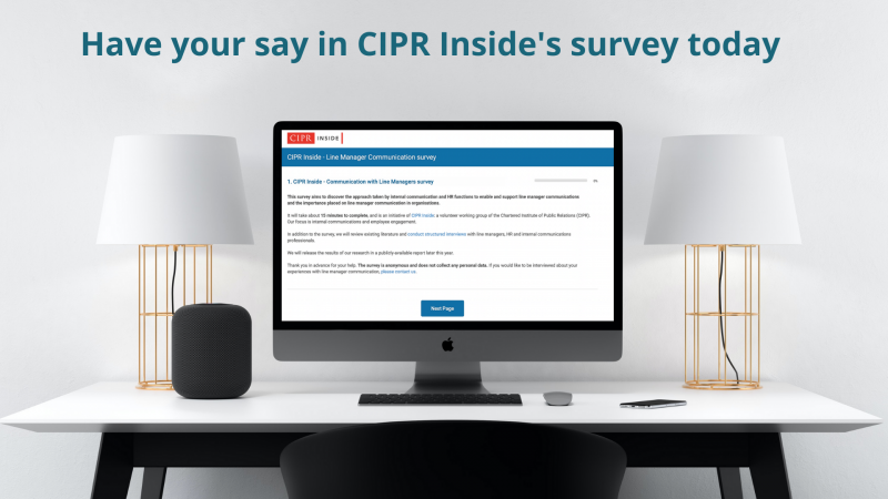 Have your say in CIPR Inside's survey today